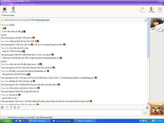 Cộng đồng mạng tiếc nuối chia sẻ hình ảnh bá đạo về Yahoo Messenger - Ảnh 3.