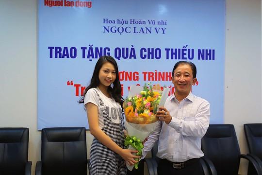 Hoa hậu Hoàn Vũ nhí ủng hộ trẻ em có hoàn cảnh khó khăn - Ảnh 4.