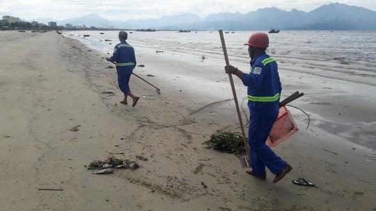 Đà Nẵng: Hơn 5km bờ biển Nguyễn Tất Thành bị rác thải bủa vây - Ảnh 3.