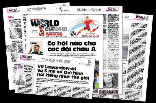 Đón đọc Tin nhanh World Cup 2018 - Ảnh 1.