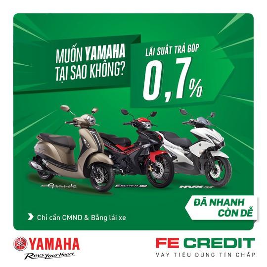 Mua xe máy Yamaha đã nhanh còn dễ với FE CREDIT - Ảnh 1.