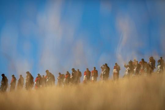 Rực rỡ sắc màu tại lễ hội tuyết và sao ở Peru - Ảnh 12.