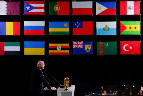 Liên danh 3 nước Bắc Mỹ giành quyền đăng cai World Cup 2026 - Ảnh 1.