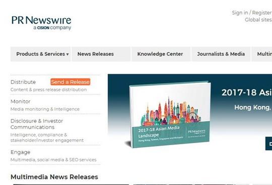 Hãng PR Newswire mở văn phòng đại diện tại TP HCM - Ảnh 1.