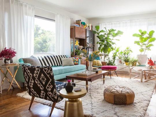 20 cách kết hợp màu sắc này khi trang trí phòng khách - Ảnh 1.