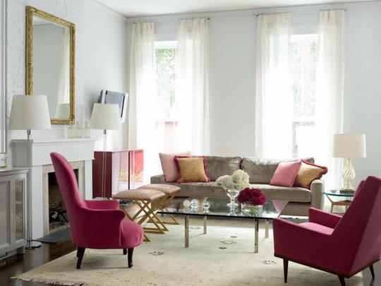20 cách kết hợp màu sắc này khi trang trí phòng khách - Ảnh 11.