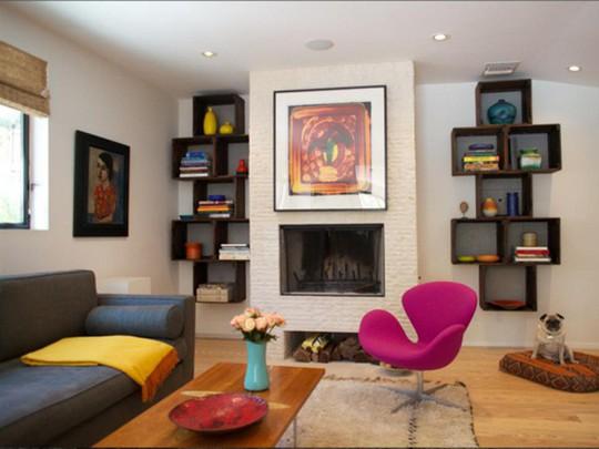 20 cách kết hợp màu sắc này khi trang trí phòng khách - Ảnh 12.
