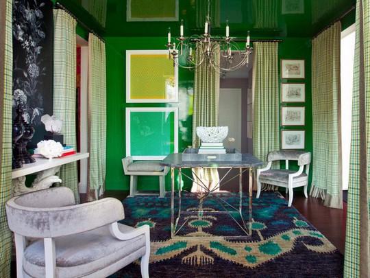 20 cách kết hợp màu sắc này khi trang trí phòng khách - Ảnh 13.