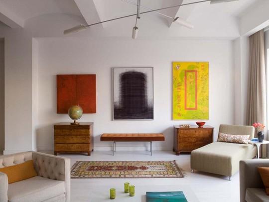 20 cách kết hợp màu sắc này khi trang trí phòng khách - Ảnh 16.