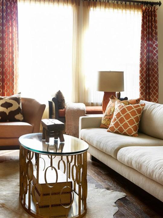 20 cách kết hợp màu sắc này khi trang trí phòng khách - Ảnh 17.