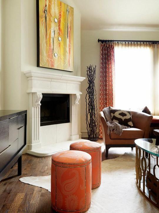 20 cách kết hợp màu sắc này khi trang trí phòng khách - Ảnh 18.