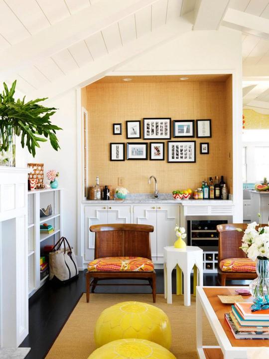 20 cách kết hợp màu sắc này khi trang trí phòng khách - Ảnh 19.