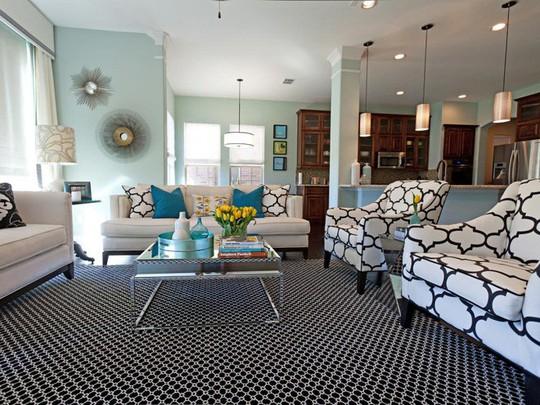 20 cách kết hợp màu sắc này khi trang trí phòng khách - Ảnh 3.
