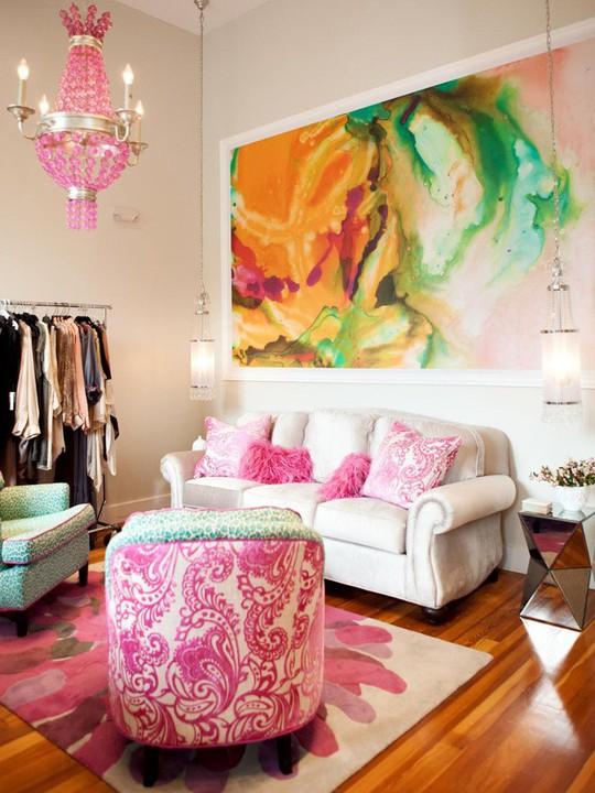 20 cách kết hợp màu sắc này khi trang trí phòng khách - Ảnh 9.