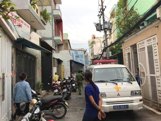 Hai cha con cùng tử vong trong ngôi nhà ở quận Tân Bình - ảnh 2