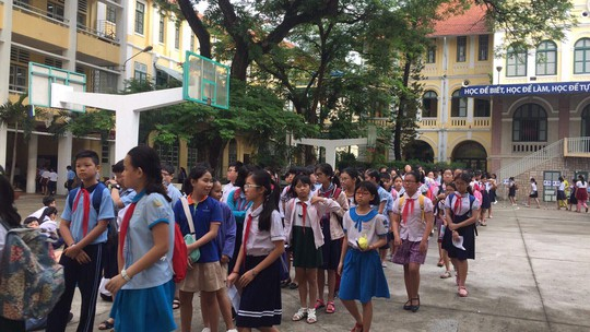 Thi 8 chọn 1 vào lớp 6 Trường chuyên Trần Đại Nghĩa - Ảnh 3.