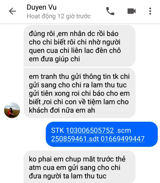 Nói chuyện qua facebook, một phụ nữ bị rút sạch tiền trong ATM - Ảnh 1.