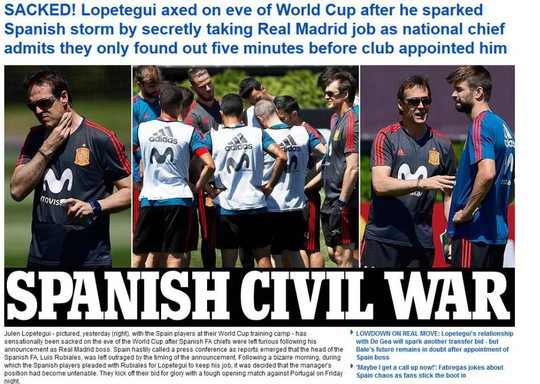 Cả châu Âu sốc nặng khi HLV tuyển Tây Ban Nha bị sa thải - Ảnh 5.