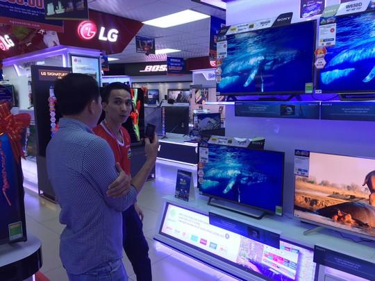 Đổ xô mua tivi trước giờ khai mạc World Cup 2018 - Ảnh 2.