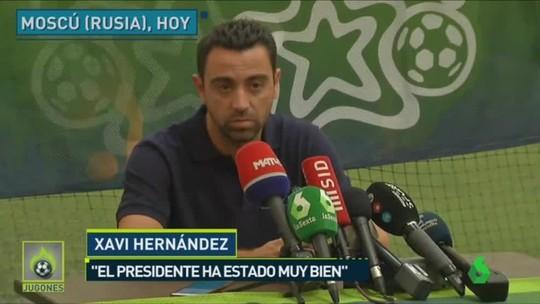 Xavi bị CLB chủ quản cấm tham dự trận đấu xứ Catalonia với Venezuela - Ảnh 2.