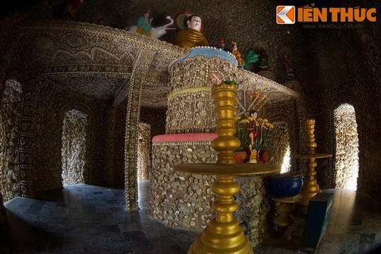 Cận cảnh tòa tháp vỏ ốc độc nhất vô nhị Việt Nam - Ảnh 9.