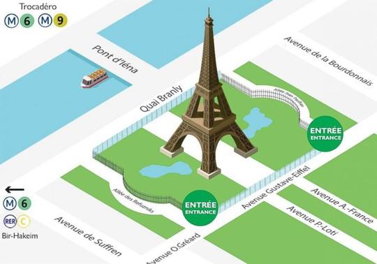 Tháp Eiffel mặc giáp chống đạn - Ảnh 3.