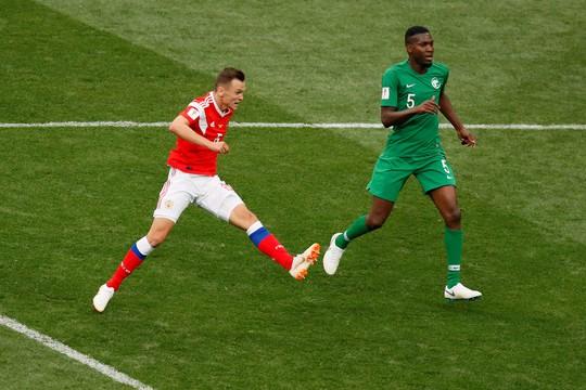 Nga - Ả Rập Saudi 5-0: Thắng đậm vì đối thủ quá yếu - Ảnh 2.