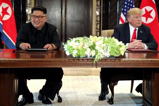 Ông Trump gặp rắc rối vì câu đùa về Triều Tiên - Ảnh 1.