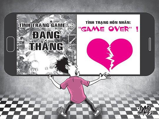 Cái kết của người chồng trẻ mê trò chơi hơn ở nhà với vợ - Ảnh 1.