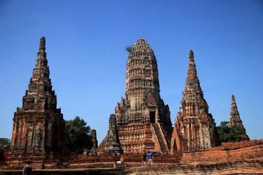 Một ngày thú vị ở cố đô Ayutthaya - Ảnh 1.