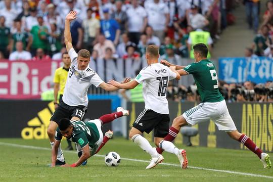 Mexico thắng sốc đương kim vô địch thế giới - Ảnh 3.