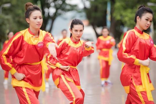 Ngắm thí sinh Hoa hậu Việt Nam 2018 luyện võ - Ảnh 8.