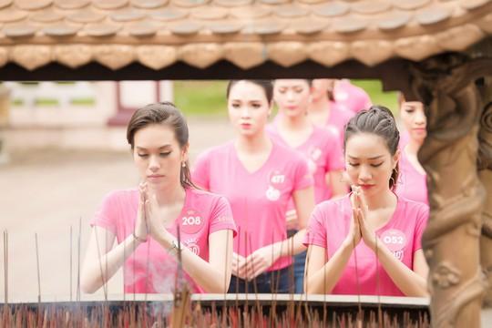 Ngắm thí sinh Hoa hậu Việt Nam 2018 luyện võ - Ảnh 2.