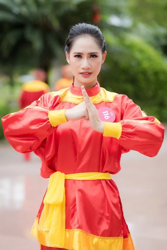 Ngắm thí sinh Hoa hậu Việt Nam 2018 luyện võ - Ảnh 7.