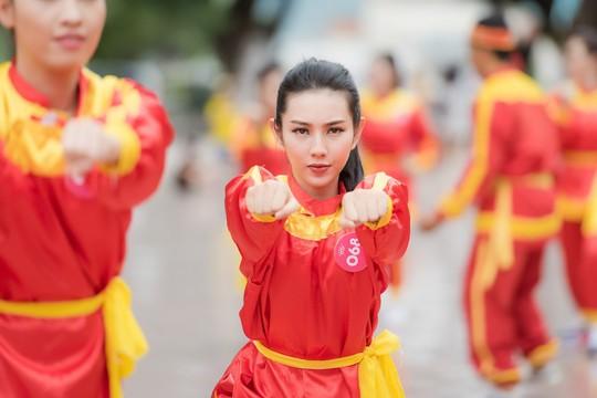 Ngắm thí sinh Hoa hậu Việt Nam 2018 luyện võ - Ảnh 6.