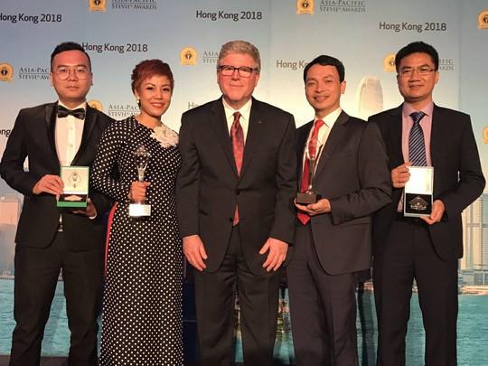 VinaPhone thắng lớn tại Giải thưởng Kinh doanh châu Á - Thái Bình Dương Stevie Awards - Ảnh 2.