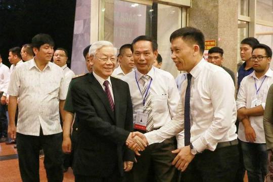 Tổng Bí thư, Chủ tịch nước dự Lễ trao Giải Báo chí Quốc gia - Ảnh 1.