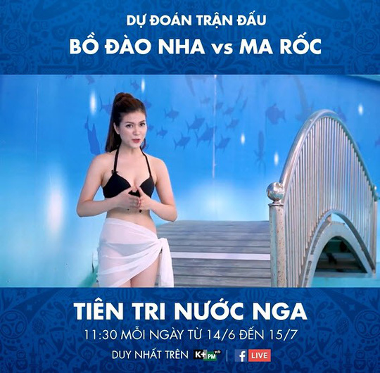 Ồn ào MC mặc bikini dẫn chương trình - Ảnh 1.