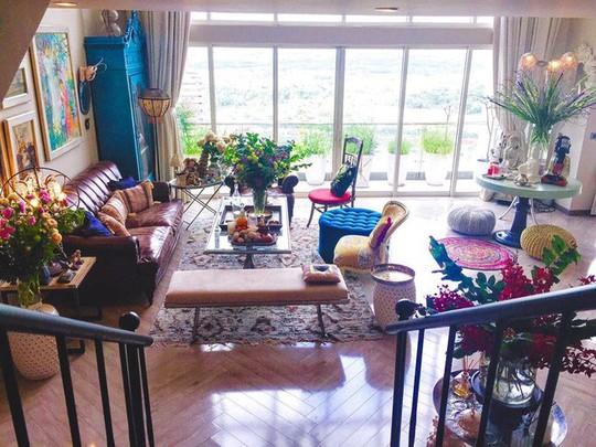 Ngắm hai căn hộ xa hoa bậc nhất showbiz Việt của nhà thiết kế Lý Quí Khánh - Ảnh 4.