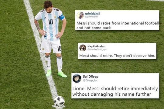 """CĐV kêu gọi Messi """"bỏ tuyển ngay lập tức"""" - Ảnh 1."""