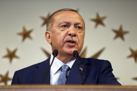 Thổ Nhĩ Kỳ: Ông Erdogan tuyên bố thắng cử tổng thống - Ảnh 1.