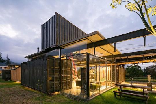 5 ngôi nhà container được đánh giá là đẹp nhất thế giới - Ảnh 11.