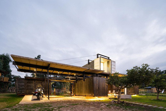 5 ngôi nhà container được đánh giá là đẹp nhất thế giới - Ảnh 12.