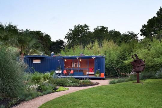5 ngôi nhà container được đánh giá là đẹp nhất thế giới - Ảnh 9.