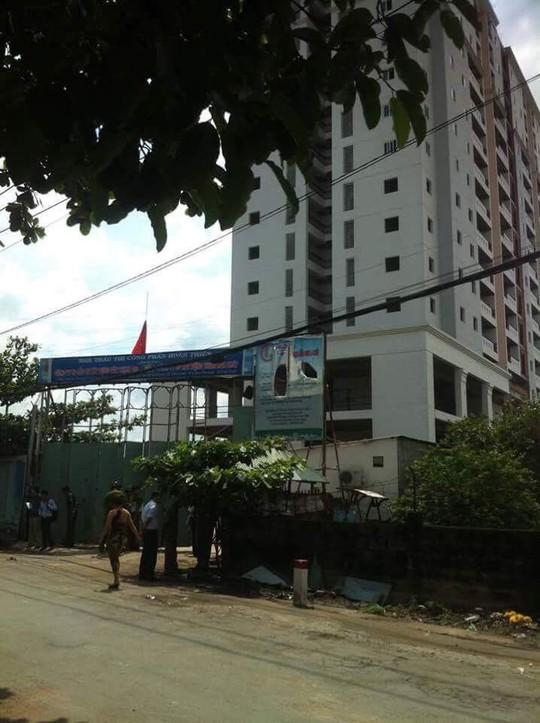 Đang tranh chấp với khách hàng, chung cư Gia Phú bị đem bán đấu giá - Ảnh 2.