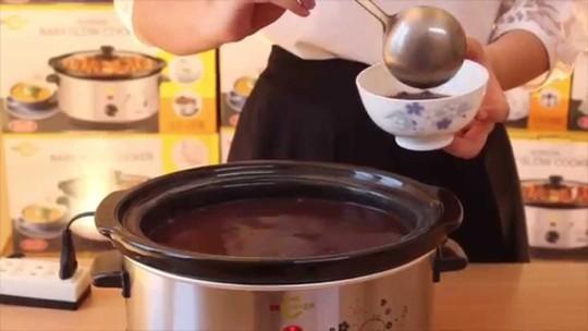 Nấu chè bằng nồi cơm điện đơn giản mà siêu ngon - Ảnh 4.