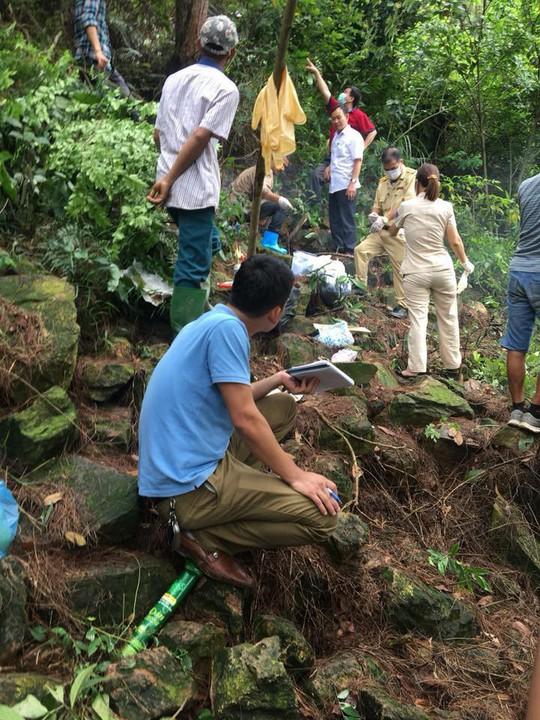 Hà Nội: Phát hiện xác người phân hủy mạnh trên núi Sóc Sơn 1