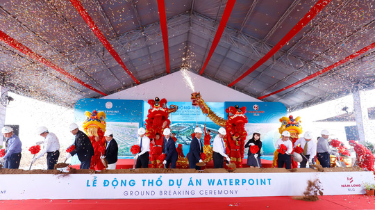 Nam Long động thổ khu đô thị WaterPoint - Ảnh 1.