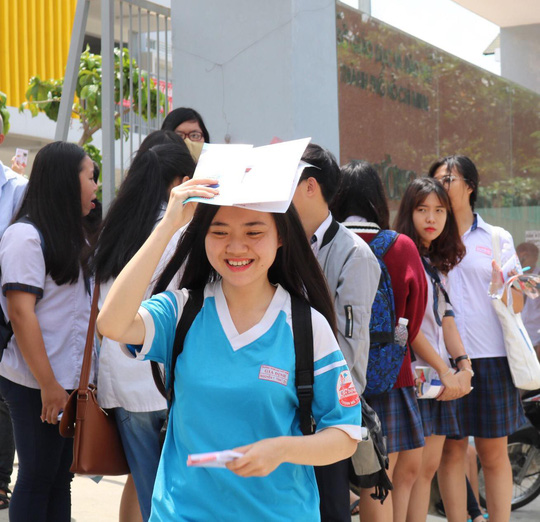 Mười thí sinh điểm thi toán cao nhất nước - Ảnh 1.