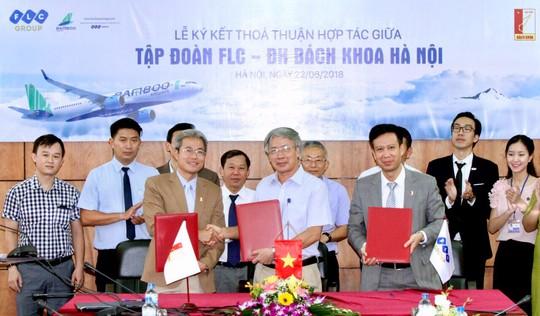 Tập đoàn FLC hợp tác ĐH Bách Khoa phát triển nguồn nhân lực  - Ảnh 1.